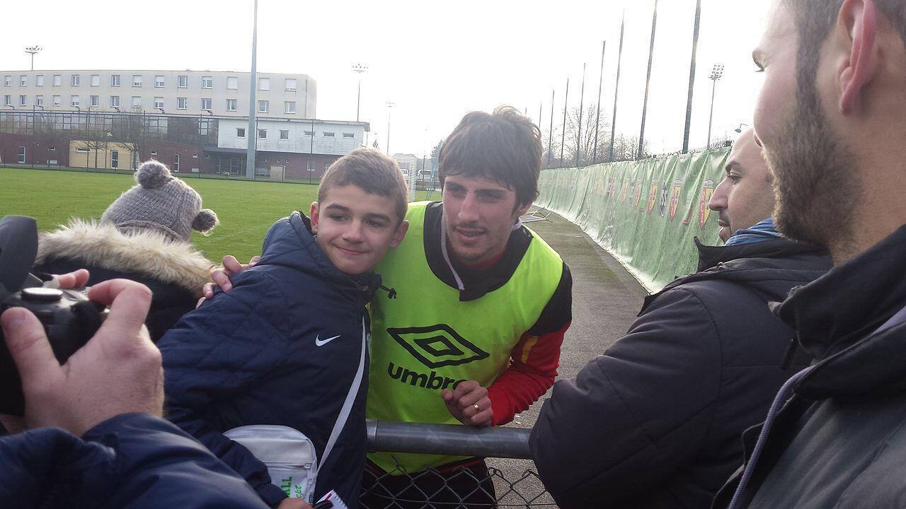 Pablo Chavarria, delantero del Stade de Reims de Francia