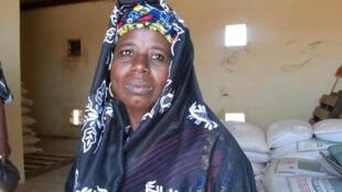 Mahamoudou Gambina Souley, sécrétaire générale du réseau des femmes « Sabbu » de la commune de Mokko.