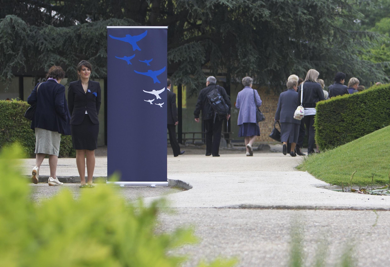 Cerimônia em homenagem às vítimas do voo AF447.