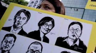 2015年国际特赦呼吁中国释放律师和人权活动人士