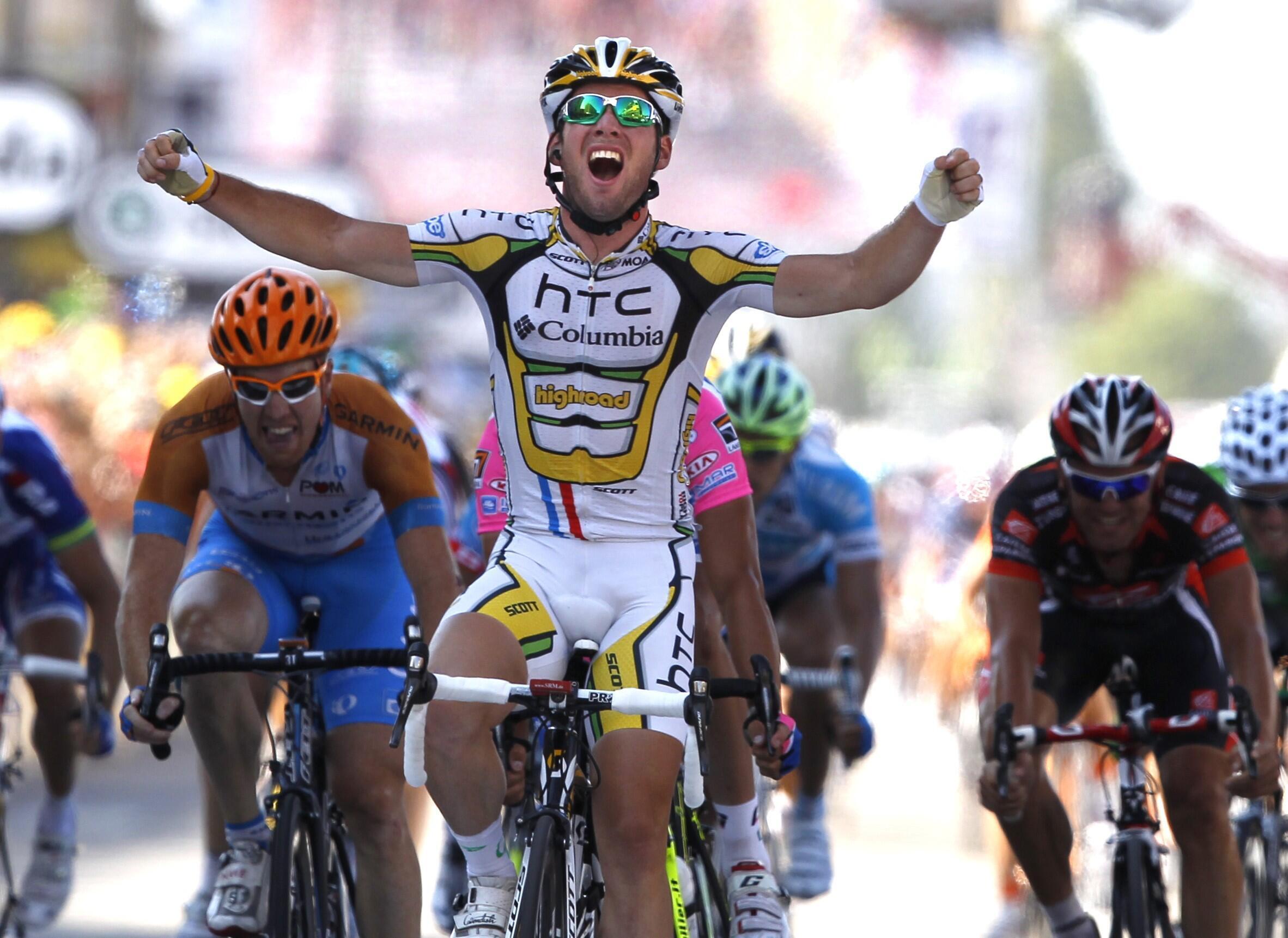 Марк Кавендиш - первый на 11-м этапе Тур де Франс