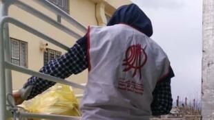 یکی از اعضای خیریه «جمعیت امام علی»