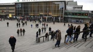 新年夜发生大规模性侵事件一周后的科隆车站广场