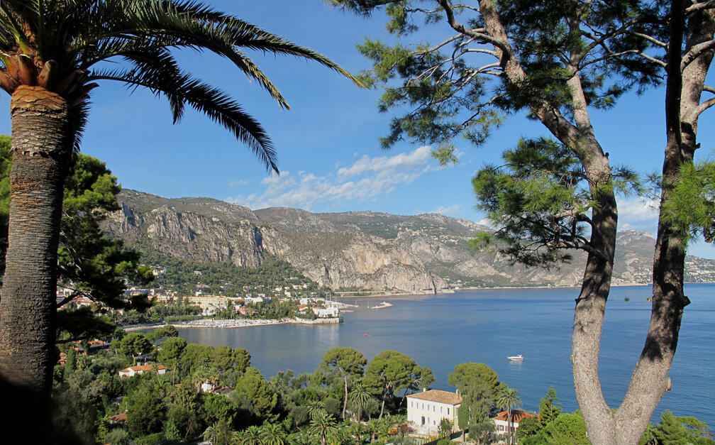 Le Cap Ferrat, en Provence-Alpes-Côte d'Azur, région qui peut passer au FN à l'issue des élections régionales de décembre 2015.