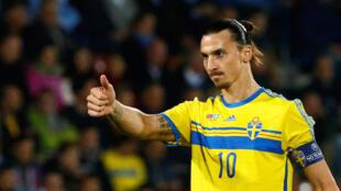 Mshambuliaji wa timu ya taifa ya Sweden, Zlatan Ibrahimovic