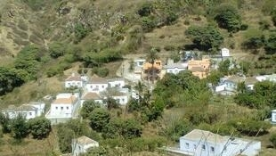 Cova Joana, localidade evacuada na ilha da Brava.