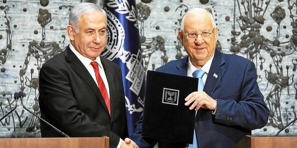 رئیس جمهوری اسرائیل بنیامین نتانیاهو را مأمور تشکیل کابینه جدید کرد