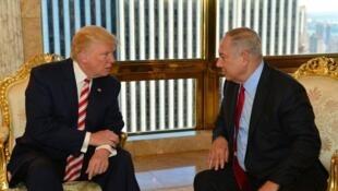 Donald Trump et Benyamin Netanyahou
