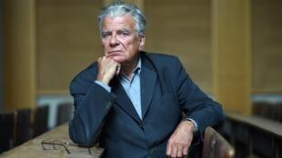 Le politologue français Olivier Duhamel le 19 mai 2016 à l'Université de Sciences Po à Paris, France