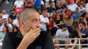 Mourad Boudjellal, président du RC Toulon, le 7 septembre 2019 à Toulon