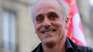 Philippe Poutou, candidat NPA à l'élection présidentielle, le 31 mai 2016.