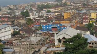 Freetown, the capital of Sierra Leone