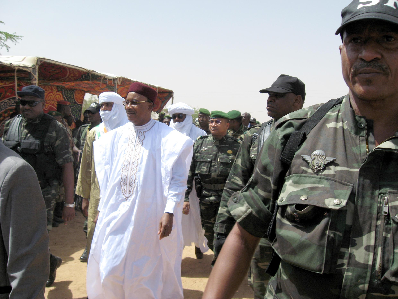 Shugaban Nijar Issoufou Mahamadou yana ziyara a Agadez