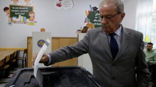 Centre de vote à Pristina au Kosovo, le 6 octobre 2019.