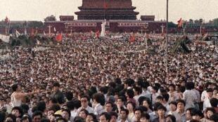 天安门1989年6月