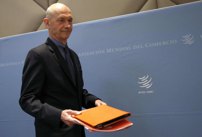 O diretor-geral da OMC, Pascal Lamy, passa o cargo para o brasileiro Roberto Azevedo neste domingo, 1° de setembro.