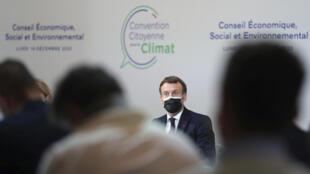 Les participants à la Convention citoyenne pour le climat ont attribué une note moyenne de 3,8/10 au gouvernement.