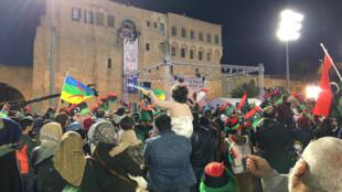 Place des Martyrs à Tripoli en Libye