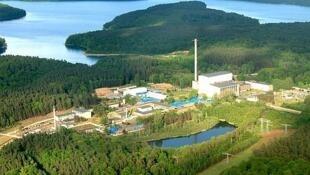 La centrale de Rheinsberg en Allemagne.