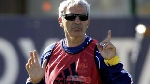 El técnico francés Raymond Domenech hará algunas pruebas este miércoles ante Costa Rica.