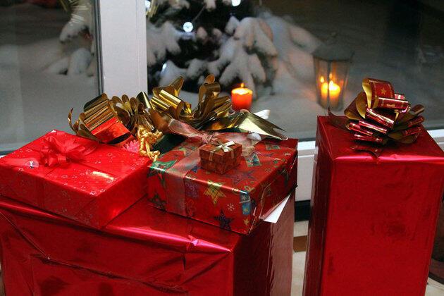 聖誕樹下的禮物