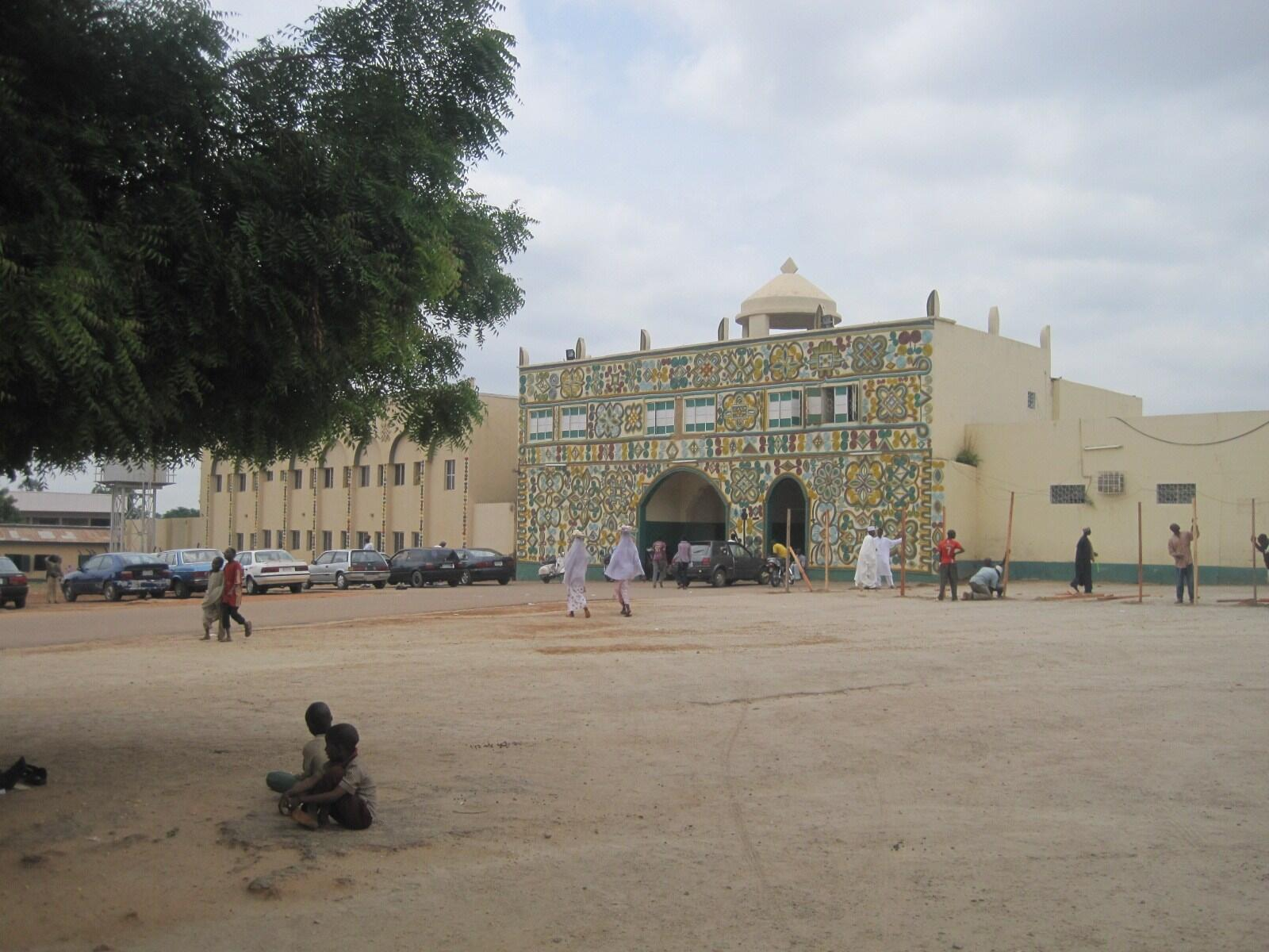 Entrance of Zaria Emirate in nothern Nigeria