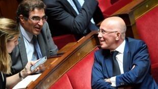 Le chef du groupe Les Républicains à l'Assemblée nationale, Christian Jacob, est le favori à la succession de Laurent Wauquiez à la tête du parti.