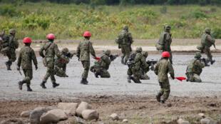Tập trận chung Mỹ Nhật  'Northern Viper 17' tại Hokkaido. Ảnh 16/08/2017.