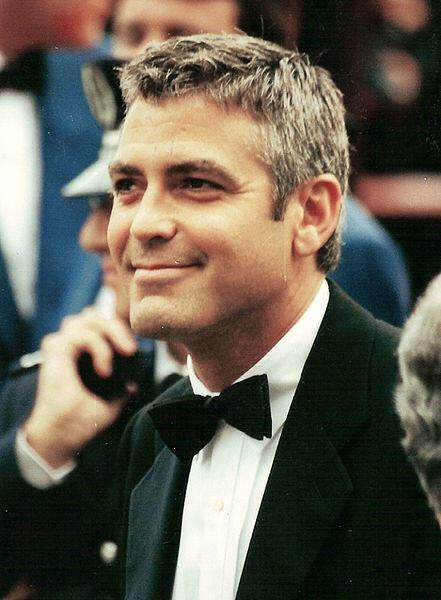 George Clooney, archétype du parfait métrosexuel.