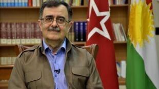 عبدالله مهتدی دبیرکل حزب کومله کردستان ایران