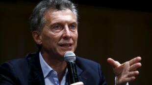 Mauricio Macri, nouveau président d'Argentine.