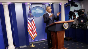 奧巴馬在白宮舉行任期內最後一次記者會 (18-01-2017)