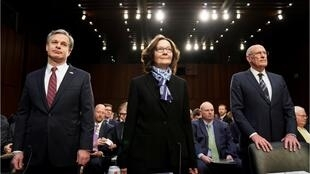 مدیران نهادهای مهم اطلاعاتی آمریکا در برابر کمیته اطلاعاتی سنای آمریکا