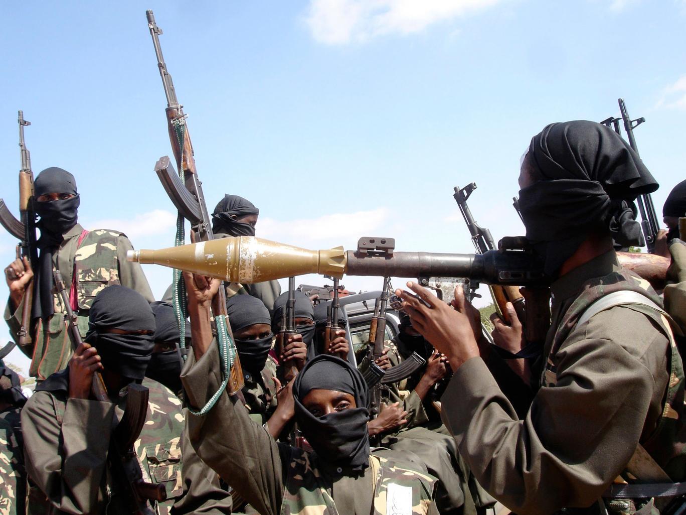 Wapiganaji wa Al Shabab nchini Somalia