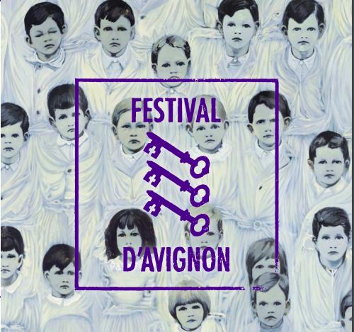 Фрагмент афиши Авиньонского фестиваля 2018 г.