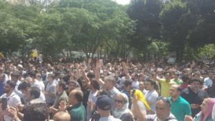 ایران: اعتصاب و تظاهرات بازاریان و اصناف در تهران - 24 ژوئن 1397/ 4 تیر 1397