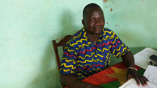 Sawadogo Paul, président de l'Association Jeunesse Unie  pour la Promotion Economique et Sociale.