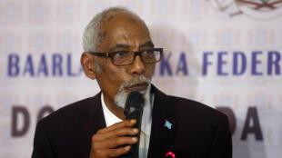 En Somalie, Mohamed Osman Jawari, président de l'Assemblée nationale (photo), fait face à une fronde massive des députés.