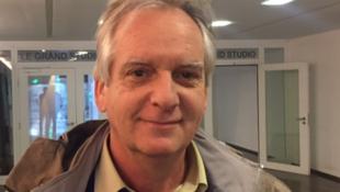 Thomas Coutrot, economista no Ministério do Trabalho francês, nos estúdios da RFI Brasil