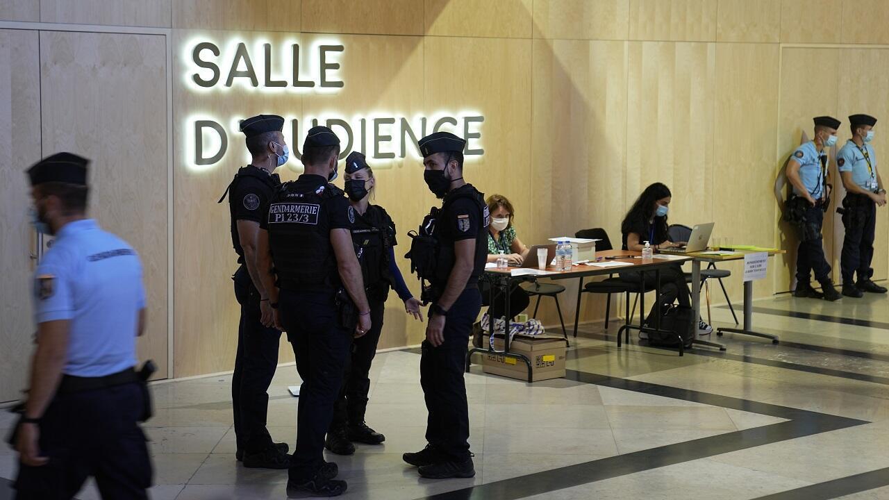 PHOTO Cour d'assises Paris - 8 septembre 2021