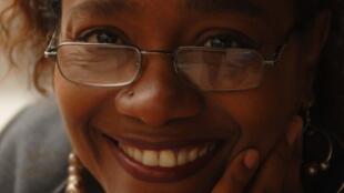 Portrait de la romancière haïtienne Kettly Mars.