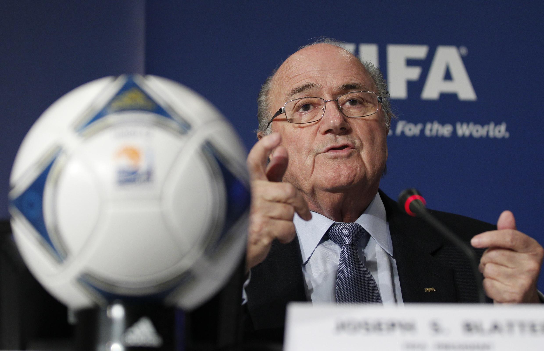 Rais wa FIFA Sepp Blatter