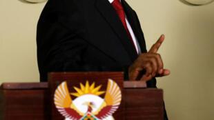 Rais wa zamani wa Afrika Kusini, Jacob Zuma.