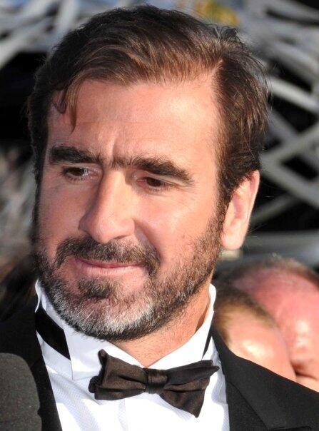 El ex futbolista francés Eric Cantona.