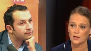 Sébastien Chenu et Olivia Grégoire.