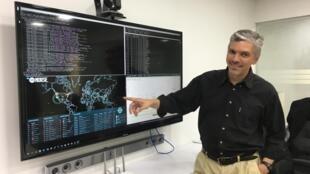 O brasileiro Yossi ''Beto'' Cohen, especialista em cyber em Israel.
