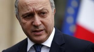 French foreign minist Laurent Fabius