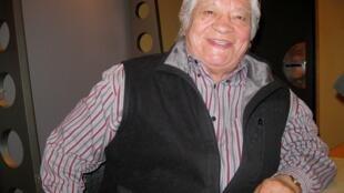 Alberto Quintanilla en nuestros estudios.