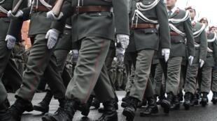 Chaque année, 22 000 Autrichiens effectuent un service militaire de six mois.