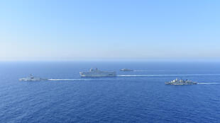 2020-08-13 greece france military exercises mediterranean